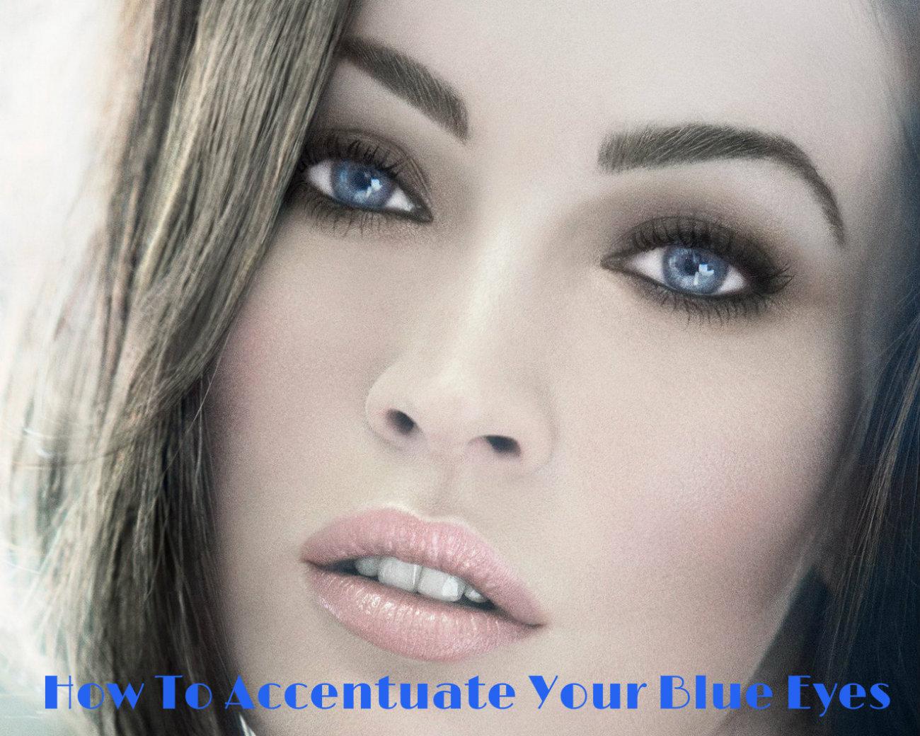 Consejos de maquillaje para los ojos azules