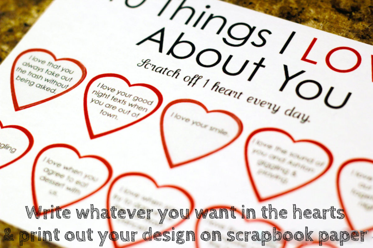 DIY Valentines Day Gifts Scratchoff Cards – Diy Valentines Cards Pinterest
